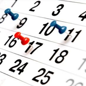 ajustamento ao calendário fiscal