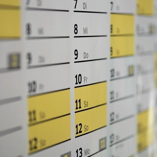 Ajustamento ao calendário fiscal 2021